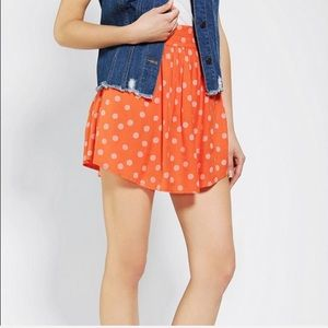 UO / COOPERATIVE / DOTTED MINI SKIRT
